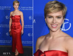 Scarlett Johansson In Vintage Yves Saint Laurent - American Museum Of Natural History's 2017 Museum Gala