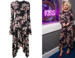 Selena Gomez's Isabel Marant Diana Floral-Print Dress