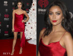 Shay Mitchell In Cinq à Sept - 2017 iHeartRadio Canada Jingle Ball