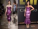 Sofia Carson In Francesco Scognamiglio - 'Pitch Perfect 3' LA Premiere