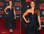 Sofia Vergara In Roland Mouret - 'Star Wars: The Last Jedi' LA Premiere