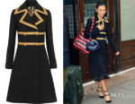 Thandie Newton's Dolce & Gabbana Wool-Blend Coat