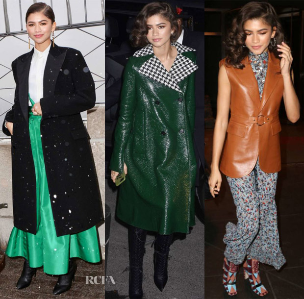 Zendaya Coleman In Ralph Lauren, Marni & Chloe - Out In New York City