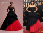 Zendaya Coleman In Viktor & Rolf - 'The Greatest Showman' World Premiere