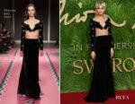 Zendaya Coleman In Vivetta - The Fashion Awards 2017