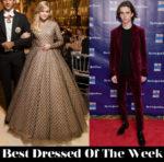 Best Dressed Of The Week - Ava Phillippe in Giambattista Valli Couture & Timothée Chalamet in Berluti