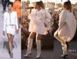 Rihanna In Calvin Klein, Tom Ford & Christian Dior - TDE Annual Christmas Concert & Jay-Z's 4:44 Concert