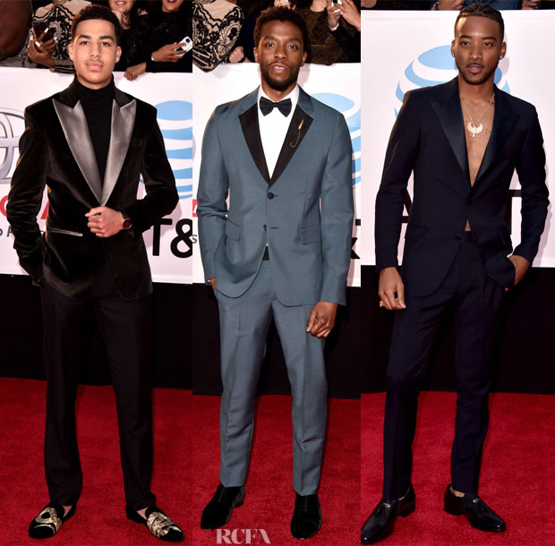 2018 NAACP Image Awards Menswear Roundup