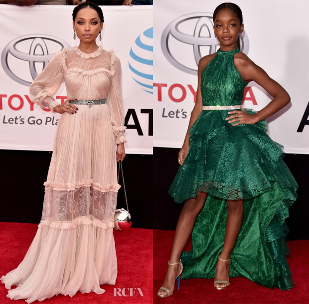 2018 NAACP Image Awards Red Carpet Roundup