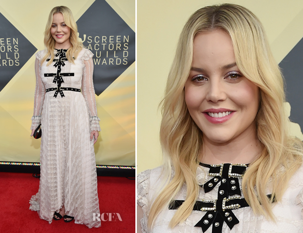 Abbie Cornish In Philosophy di Lorenzo Serafini - 2018 SAG Awards
