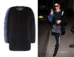 Adriana Lima's Charlotte Simone Big Softie Jacket