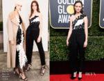 Alexis Bledel In Oscar de la Renta - 2018 Golden Globe Awards