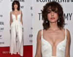 Alison Brie In Roland Mouret - Los Angeles Confidential Celebrates 'Awards Issue'