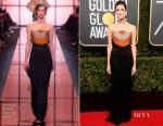 Allison Williams In Armani Privé - 2018 Golden Globe Awards