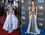 Allison Williams In Dolce & Gabbana - 2018 Critics' Choice Awards