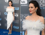 Angelina Jolie In Ralph & Russo Couture - 2018 Critics' Choice Awards