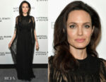 Angelina Jolie In Valentino - The National Board Of Review Annual Awards Gala