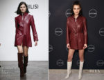 Bella Hadid In Situationist, Gigi Hadid In Versace & Yolanda Hadid In David Koma - 'Making A Model With Yolanda Hadid' New York Premiere