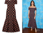 Bellamy Young's Temperley London Off-The-Shoulder Dress