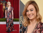 Brie Larson In Gucci - 2018 SAG Awards