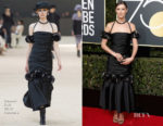 Caitriona Balfe In Chanel Couture - 2018 Golden Globe Awards