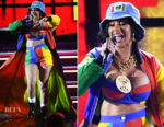 Cardi B In Moschino by Jeremy Scott - 2018 Grammy Awards Performance