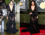 Catherine Zeta Jones In Zuhair Murad Couture - 2018 Golden Globe Awards