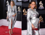 Chrissy Teigen In Yanina Couture - 2018 Grammy Awards