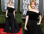 Christina Hendricks In Christian Siriano - 2018 Golden Globe Awards