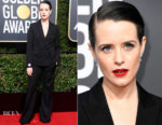 Claire Foy In Stella McCartney - 2018 Golden Globe Awards