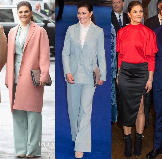 Princess Victoria of Sweden - Red Carpet Fashion Awards