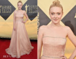 Dakota Fanning In Prada - 2018 SAG Awards