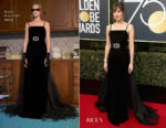 Dakota Johnson In Gucci - 2018 Golden Globe Awards
