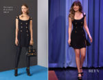 Dakota Johnson In Versace - The Tonight Show Starring Jimmy Fallon