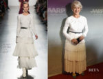 Dame Helen Mirren In Prabal Gurung - 'The Leisure Seeker' LA Premiere
