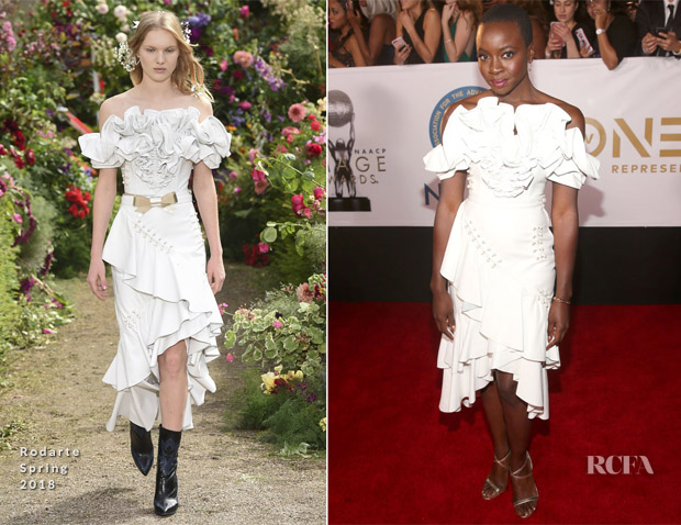 Danai Gurira In Rodarte - 2018 NAACP Image Awards