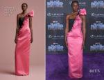 Danai Gurira In Viktor & Rolf Soir - 'Black Panther' World Premiere