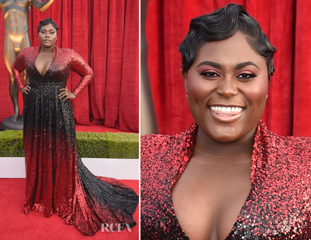 Danielle Brooks In Marc Bouwer - 2018 SAG Awards