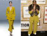 DeJ Loaf In Teresa Helbig - 2018 Roc Nation Pre-Grammy Brunch