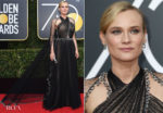 Diane Kruger In Prada - 2018 Golden Globe Awards