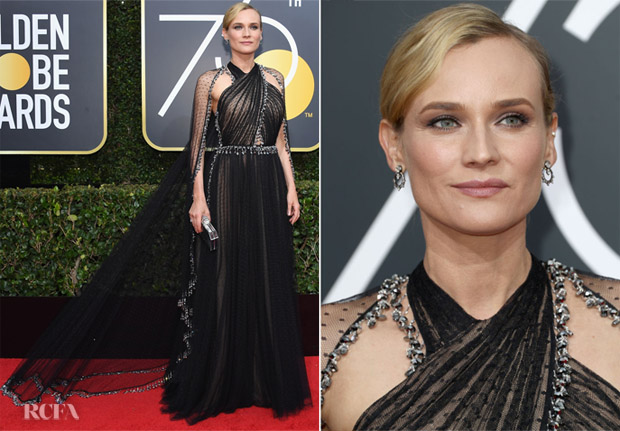 Diane Kruger In Prada - 2018 Golden Globe Awards - Red Carpet ... fdc9e7c3caa