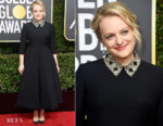 Elisabeth Moss In Christian Dior Couture - 2018 Golden Globe Awards