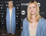 Elle Fanning In The Row - 'The Alienist' Sundance Film Festival Screening