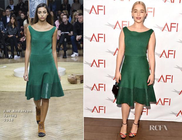 Jw anderson fashion awards dresses