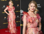 Emilie de Ravin In Alice McCall - 2018 G'Day USA Los Angeles Black Tie Gala