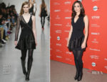 Emmy Rossum In David Koma - 'A Futile And Stupid Gesture' Sundance Film Festival Premiere