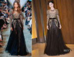 Fan Bingbing In Elie Saab Couture - King Power Grand Opening