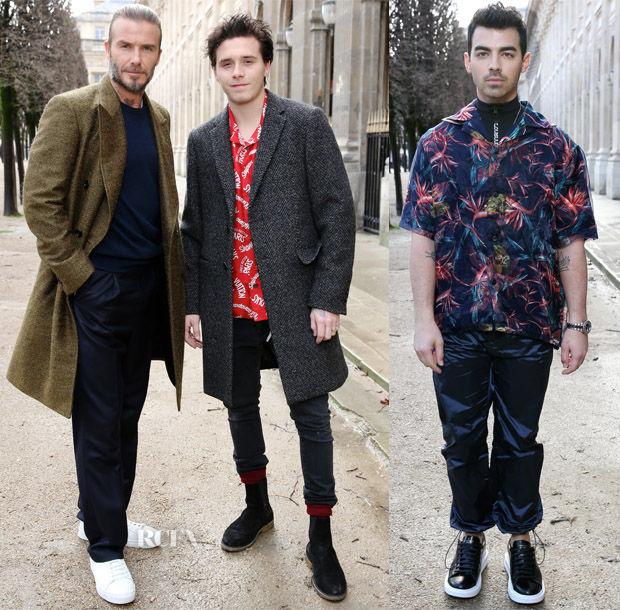 Front Row At Louis Vuitton Fall 2018 Red Carpet Fashion Awards