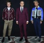 Front Row @ Valentino Fall 2018 Menswear Paris Fashion Week