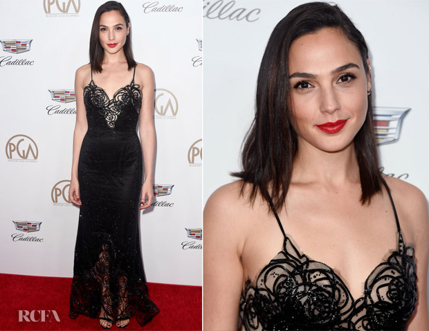 Gal Gadot In Armani Prive - 2018 Producers Guild Awards